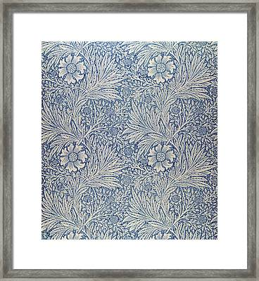Marigold Wallpaper Design Framed Print