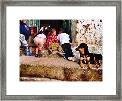 Mariguana Framed Print by Skip Hunt