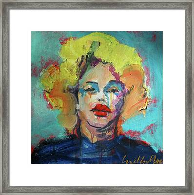 Marilyn 2010 Framed Print by Les Leffingwell