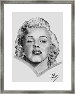 Marilyn Framed Print