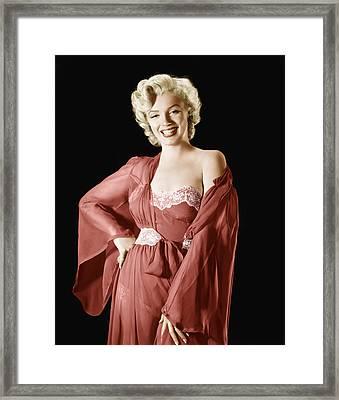 Marilyn Monroe, 1950s Framed Print by Everett