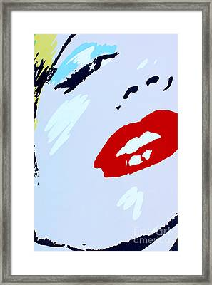 Marilyn Monroe 2 Framed Print by Micah May