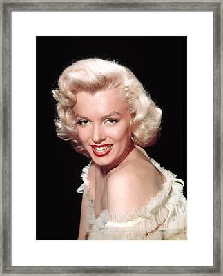 Marilyn Monroe, C. Mid-1950s Framed Print by Everett