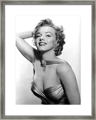 Marilyn Monroe, Circa 1950s Framed Print by Everett