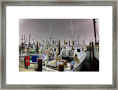Framed Print featuring the photograph Marina 001 by Dorin Adrian Berbier