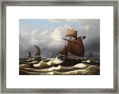 Marine Landscape Framed Print by Eduard Schmidt