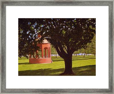 Marine Park South Boston Framed Print