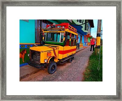 Marinilla Framed Print by Skip Hunt