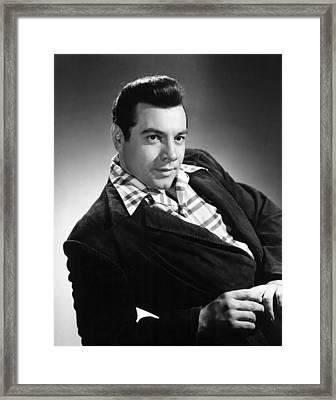 Mario Lanza, 1955 Framed Print by Everett