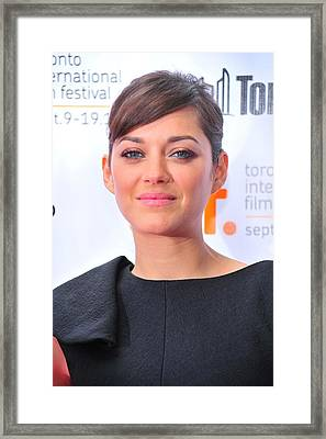 Marion Cotillard At Arrivals For Little Framed Print by Everett