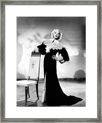 Marion Davies, Ca. 1930s Framed Print by Everett