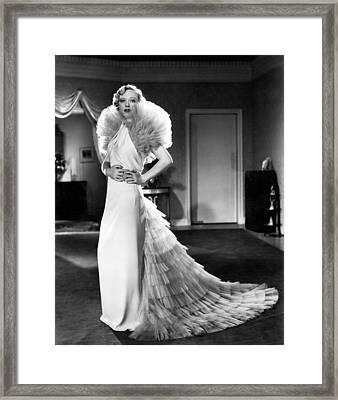 Marion Davies, Ca. Mid-1930s Framed Print by Everett