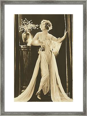 Marion Davies Framed Print by Padre Art