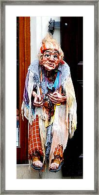 Framed Print featuring the photograph Marionette by Pravine Chester