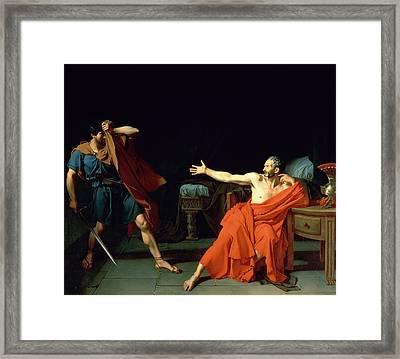 Marius At Minturnae Framed Print