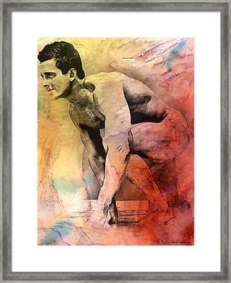 Mark Framed Print by Mark Ashkenazi
