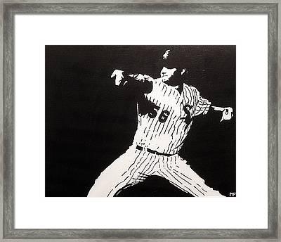 Mark Framed Print by Matthew Formeller