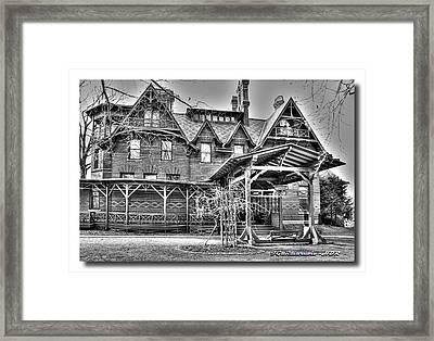 Mark Twain's Home II Framed Print