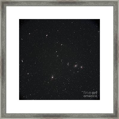 Markarians Chain Galaxies Framed Print