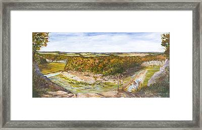 Marker 21 Framed Print by George Richardson