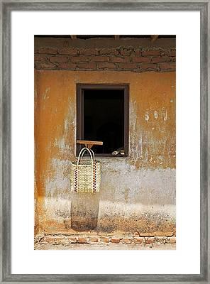 Market Basket Framed Print by Cheri Randolph