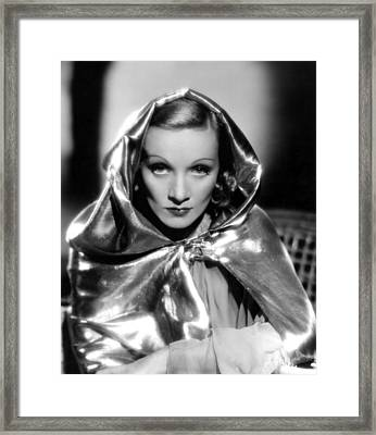 Marlene Dietrich, 1936 Framed Print