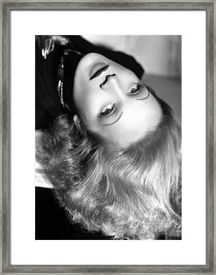 Marlene Dietrich, 1937 Framed Print