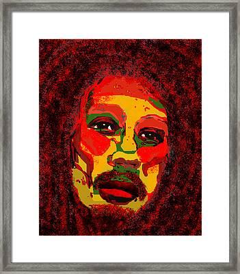 Marley Framed Print by Peri Craig