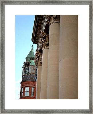Marquette Architecture Framed Print