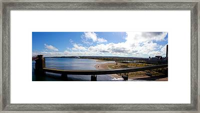 Marquette Panorama Framed Print