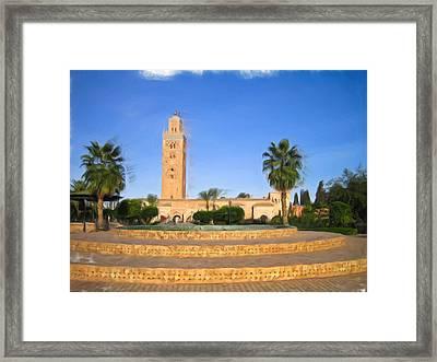 Marrakech Framed Print
