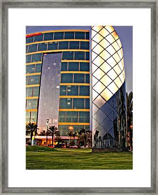 Marriott Evening Framed Print by Steve Harrington