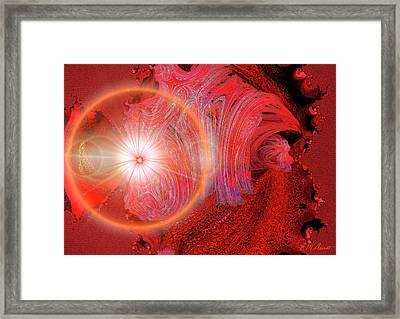 Mars Breakthrough Framed Print by Michael Durst