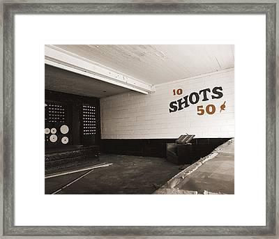 Marshall Hall Shooting Gallery Framed Print