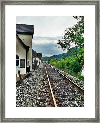 Framed Print featuring the photograph Marshall Nc by Janice Spivey