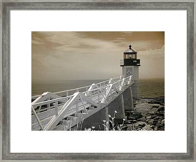 Marshall Point Framed Print by PMG Images