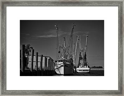Martha And Louise At Rest Framed Print