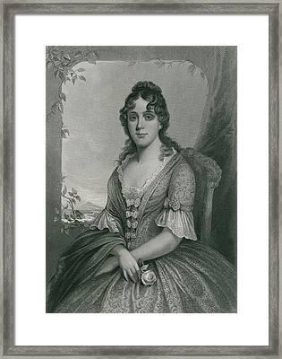 Martha Jefferson Randolph 1772-1836 Framed Print
