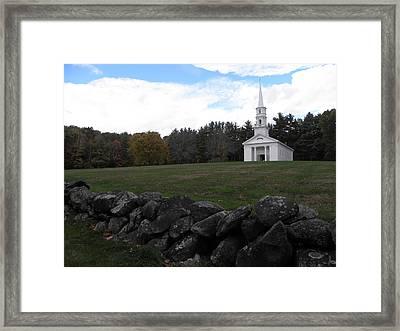 Martha Mary Chapel X2 Framed Print by Kim Galluzzo Wozniak