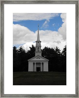 Martha Mary Chapel X3 Framed Print by Kim Galluzzo Wozniak