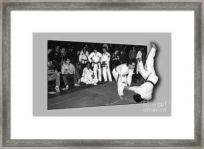 Martial Arts 4 Framed Print by Jeff Breiman