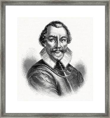Martin Frobisher, English Explorer Framed Print by Cci Archives