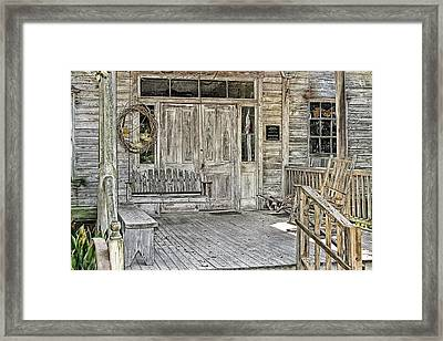 Martin Home Place Framed Print
