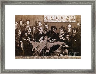 Martin Luther Framed Print