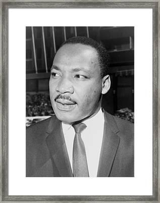 Martin Luther King, Jr., Leader Framed Print