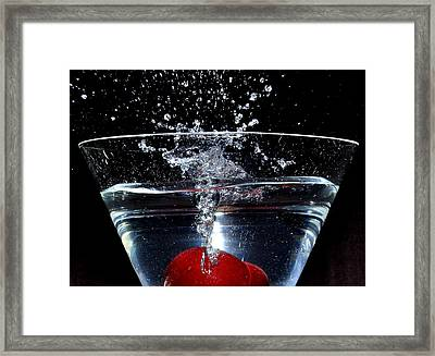 Martini Framed Print by Carlos Nass