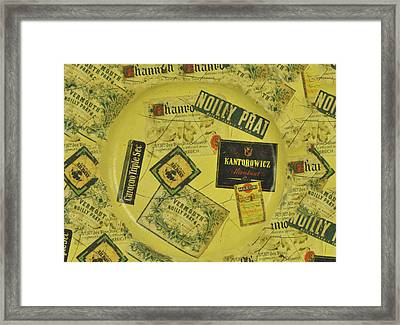 Martini Time Framed Print by Bill Cannon