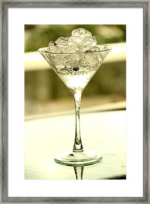 Martini Xiii Framed Print by Rene Triay Photography