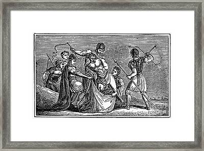 Martyrdom: Saint Julian Framed Print by Granger