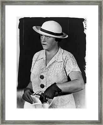 Mary Agnes Shanley, New York City Framed Print by Everett